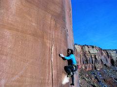 Rock Climbing Photo: The last Move