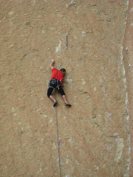 Rock Climbing Photo: Undercling?