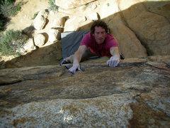 Rock Climbing Photo: Don't fall here