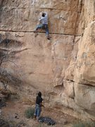 Rock Climbing Photo: Crosstown Traffic, dont let it scare you!