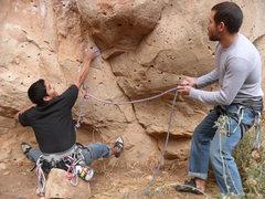 Rock Climbing Photo: Jack's Canyon and its silly sit starts hahahaha