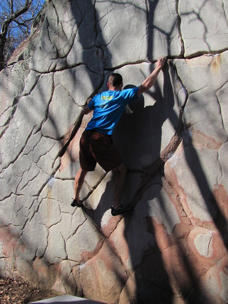 Rock Climbing Photo: Deception on a sunny winter day