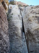 Rock Climbing Photo: The rappel