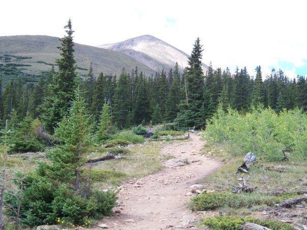 Rock Climbing Photo: Mt. Elbert