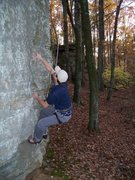 Rock Climbing Photo: This is Seth and his first time on a rope. Hope he...