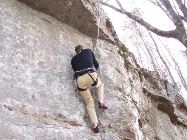 Rock Climbing Photo: My good side.