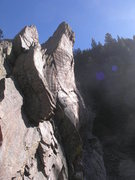 Rock Climbing Photo: I went up to Convenience Cliff after seeing it fro...