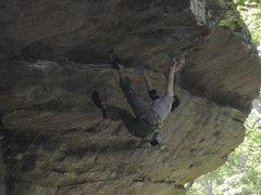 Rock Climbing Photo: SUPER fun route.
