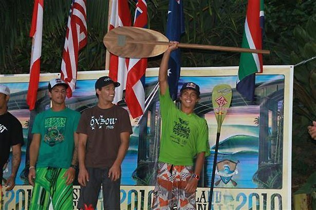 Kai Lenny becoming the 1st SUP World Champion