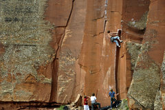 "Rock Climbing Photo: Wills (something or other ) on ""Kansas Connec..."