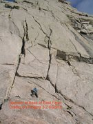 Rock Climbing Photo: East Face Cracks on Pingora