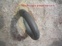 Rock Climbing Photo: titanium bolt