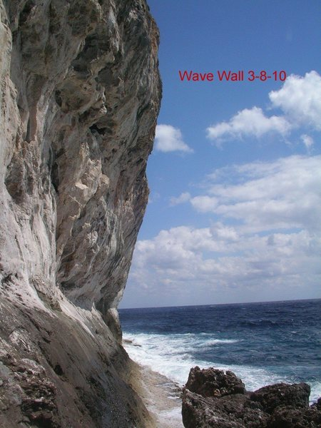 approach to wave wall