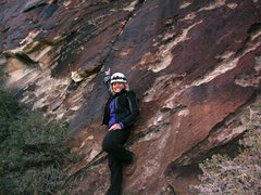 Rock Climbing Photo: First Pitch of Hot Fudge Thursday on Windy Peak. 5...