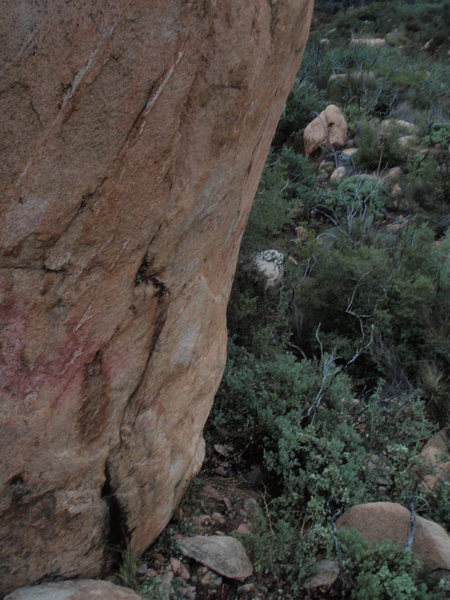 Rock Climbing Photo: It's hard to see the details of Brushfire Fairytal...