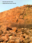 Rock Climbing Photo: Poor photo quality (from the phone).  Playing arou...