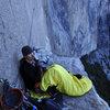 1st Bivy on El Cap
