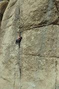 Rock Climbing Photo: Lucas Crushing Hot Rocks