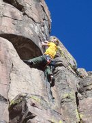 Rock Climbing Photo: New route at Table mtn.