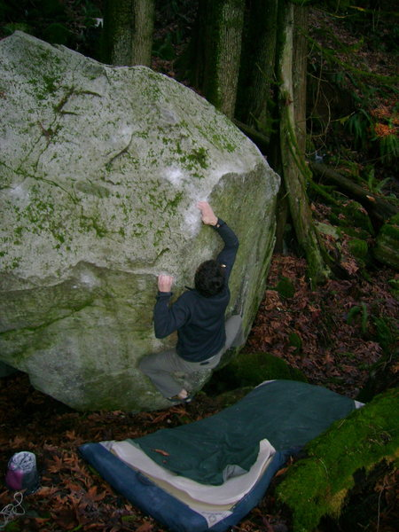 Rock Climbing Photo: Marc-Andre on Spore