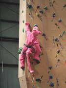 Rock Climbing Photo: Earth Treks, Timonium Maryland. Halloween party. L...