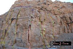 Rock Climbing Photo: 1-Child's Play         30m/98ft   HS/5.7          ...