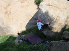 Rock Climbing Photo: Saran Wrap