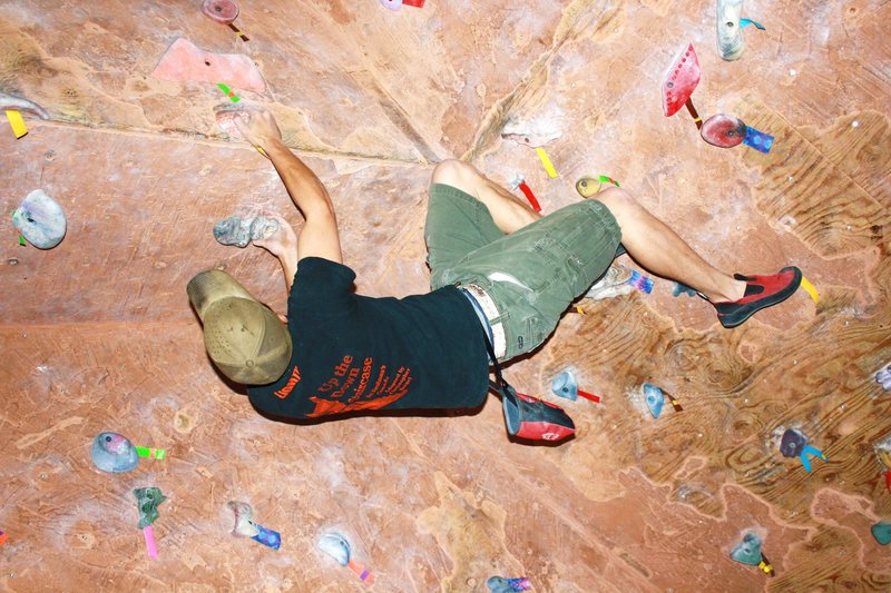 Rock Climbing Photo: cave