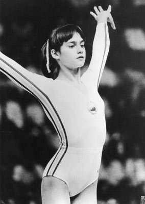 Rock Climbing Photo: Nadia Comaneci