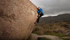 Rock Climbing Photo: A rainy day at Culp Valley.