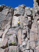 Rock Climbing Photo: Bivy ledge on 2 Ways 2 Hell.