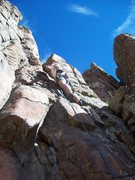 Rock Climbing Photo: Windy Pee on B.