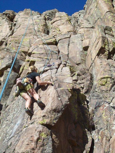 Rock Climbing Photo: Ian and Pat Spy Yet Another Moderate Line. Ian Mur...