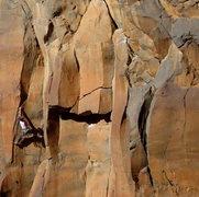 Rock Climbing Photo: Matt S, Most Excellent 5.11