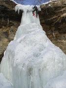 Rock Climbing Photo: Topping out - Brendan Batzlaff
