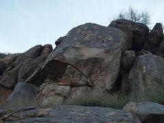 Rock Climbing Photo: Beta photo of Spank your Monkey