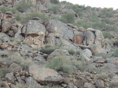 "Rock Climbing Photo: Picture of ""Lower Main Area"". Climbs inc..."