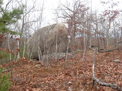 Rock Climbing Photo: From closer to the trail... great granite on this ...