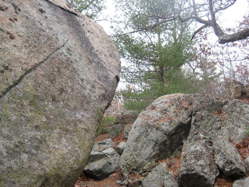 Rock Climbing Photo: The arete project....