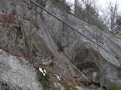 Rock Climbing Photo: close up of Big Brother