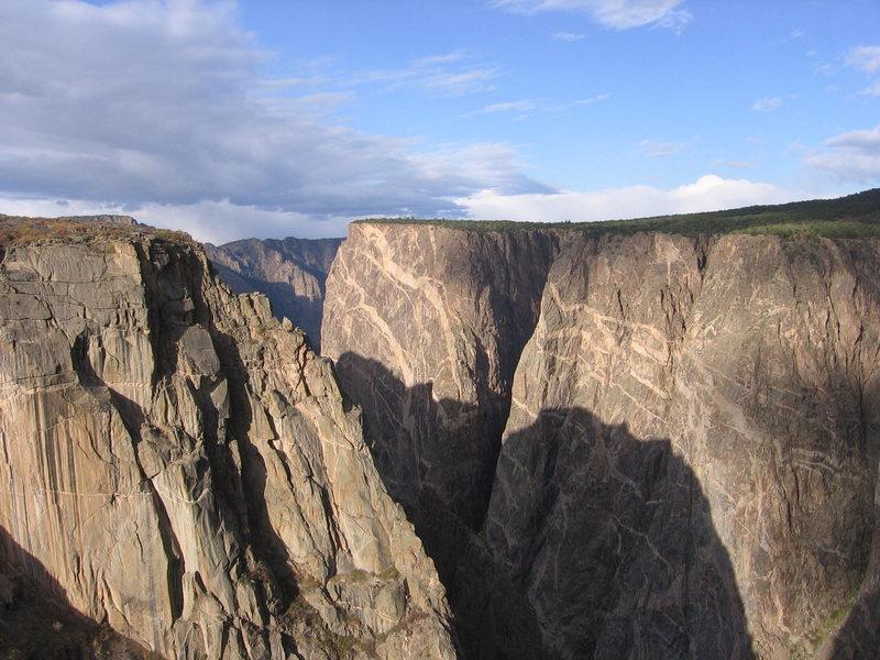 Rock Climbing Photo: The Black canyon, co