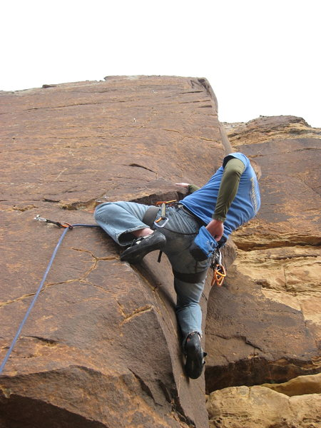 Rock Climbing Photo: Area classic, 5.11- Arete.