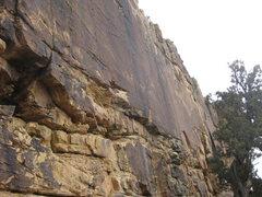 Rock Climbing Photo: Brown Wall.