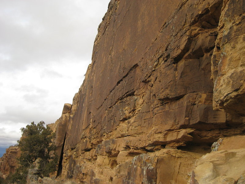 Rock Climbing Photo: Main wall.