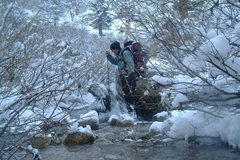 Rock Climbing Photo: River crossing
