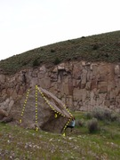 Rock Climbing Photo: Bri Gamble sampling Hairdresser on Fire. Tweedle D...