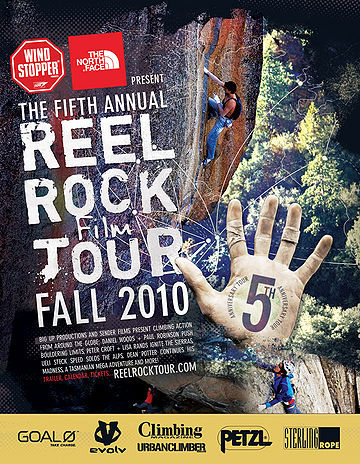 Rock Climbing Photo: tour poster