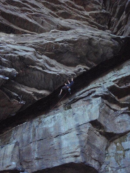 Rock Climbing Photo: Not sure of the name of this one, but it's in The ...