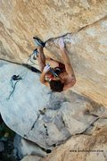 Rock Climbing Photo: Stingray, 5.13+  Posted with release from photogra...