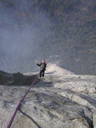 "Rock Climbing Photo: ""Sport Rappeling"" high up on El Cap"